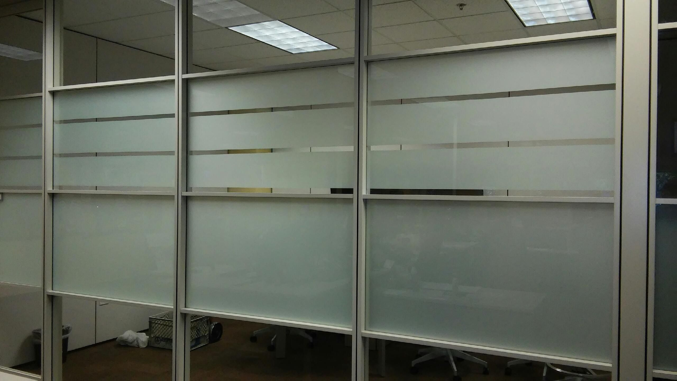 3M Milano window film used at First Citizens Bank Window
