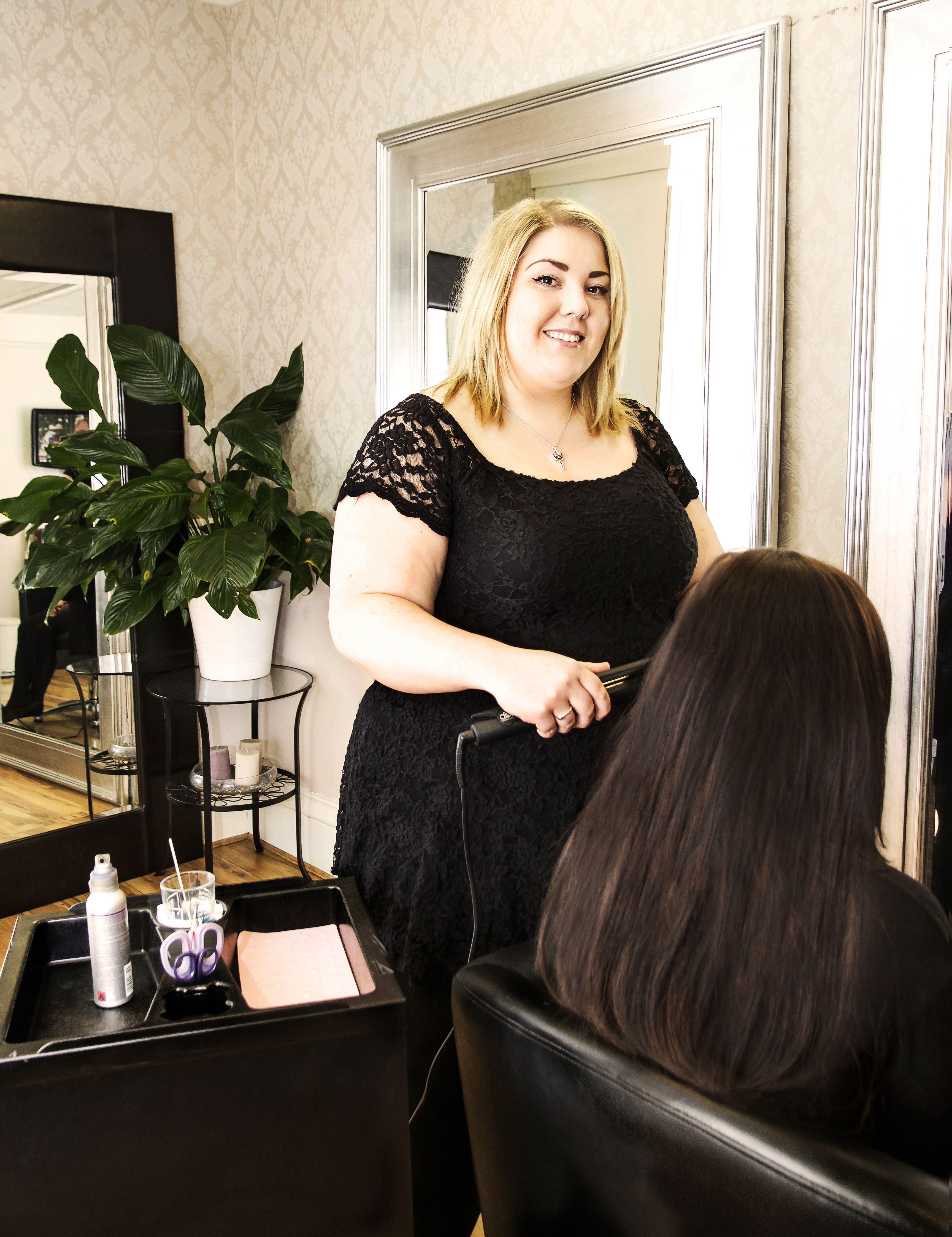Samantha our Manchester Salon supervisor and senior ...