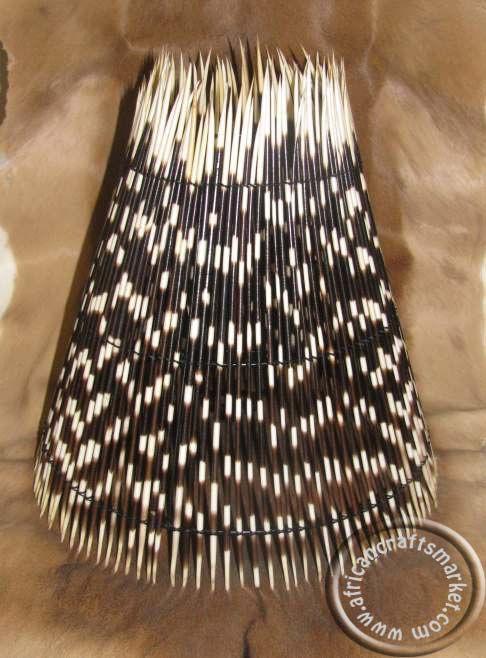 Httpafricancraftsmarketafrican porcupine quill lampshade httpafricancraftsmarketafrican porcupine quill lampshadeg aloadofball Images