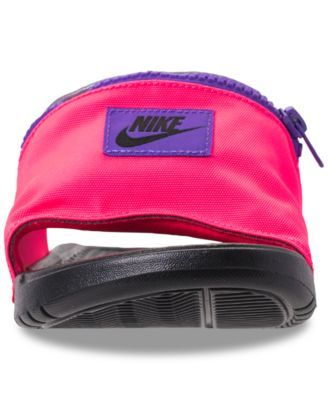 0076d8598994 Nike Men s Benassi Jdi Fanny Pack Slide Sandals from Finish Line - Red 11