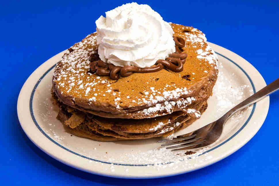 Every Ihop Pancake Ranked Dark Chocolate Mousse Chocolate Pancakes Cooking And Baking