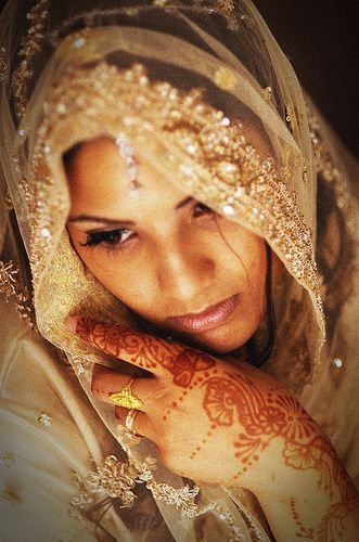 Muslim Bride | One of my favourite bridal portraits, achieve… | Flickr - Photo Sharing!