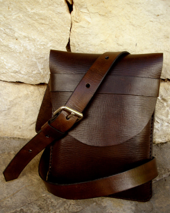LEATHER HANDMADE BAG / Bag / Leather Bag / Leather Handbag / Handbag / Shoulder Bag / Bandolier Bag / Brown Leather Bag #spanishthings