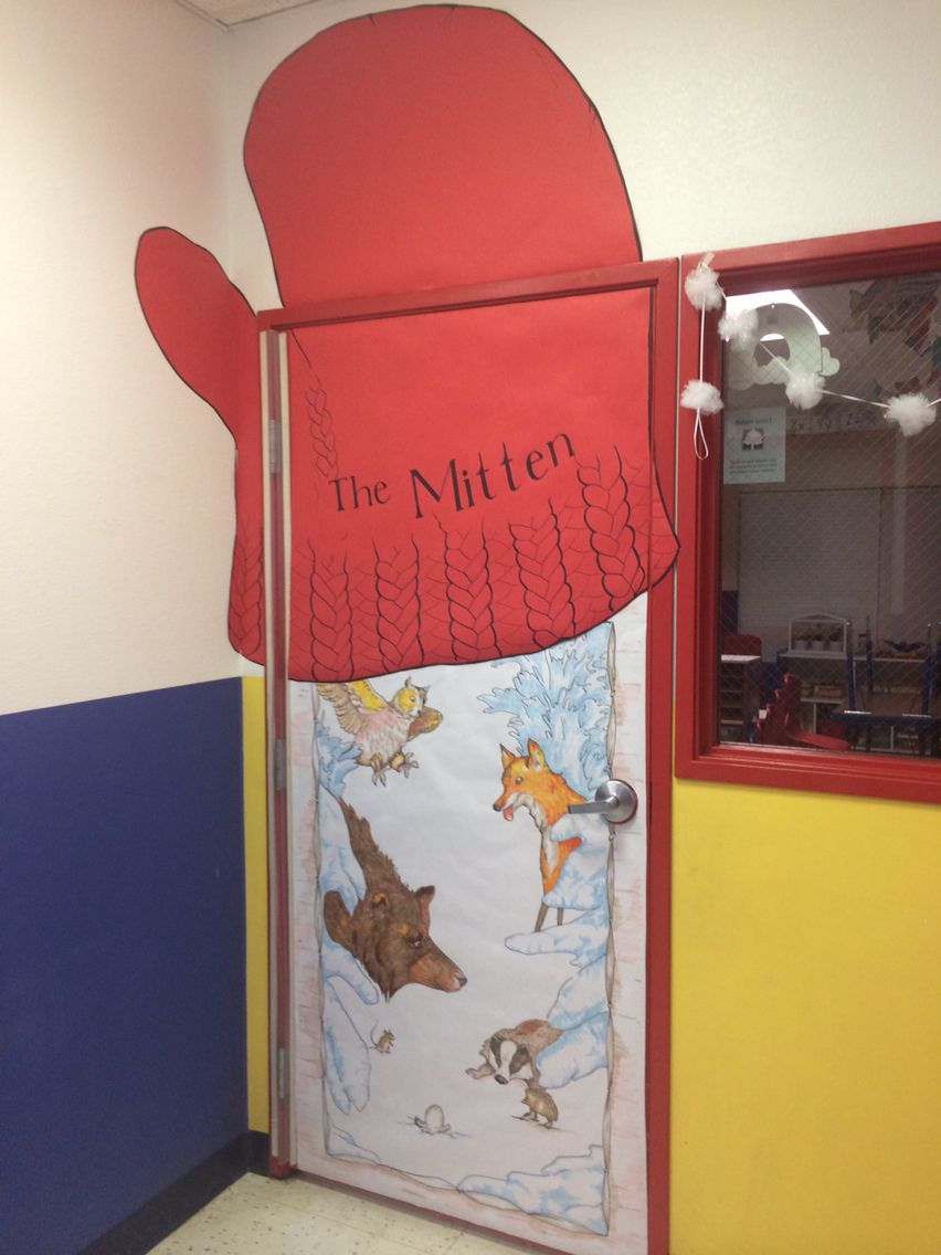 My Classroom Door All Decorated For Winter Based On Quot The