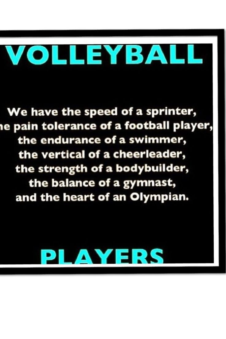 Love This Saying Volleyball Football Players Sprinter