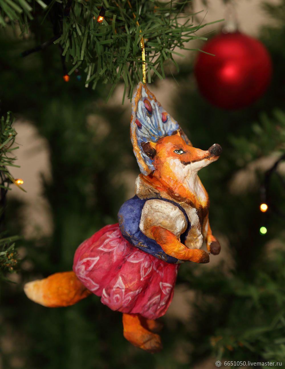 Обои плюшевая, подарки, елка. Лисы foto 13