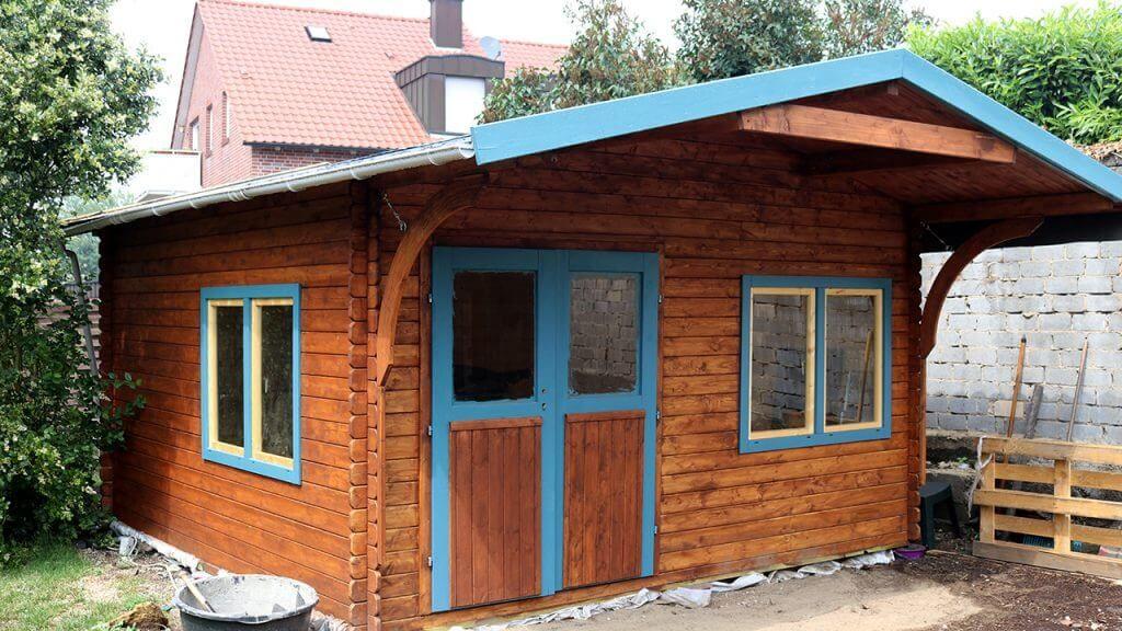 Meine Neue Gartenhutte Andys Werkstatt Gartenhutte Haus Projekte Garten