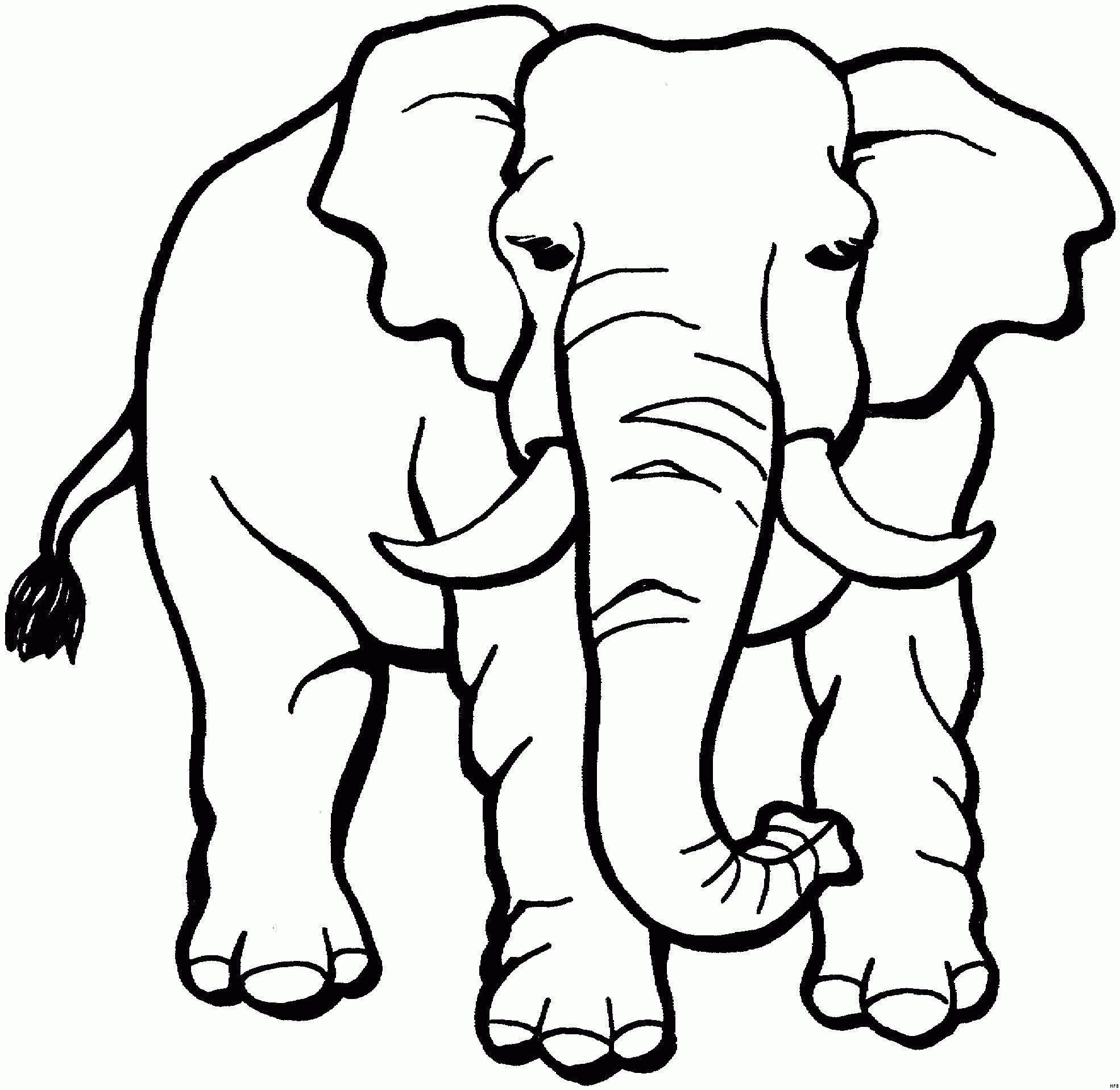 Tiere Afrikas Malvorlagen