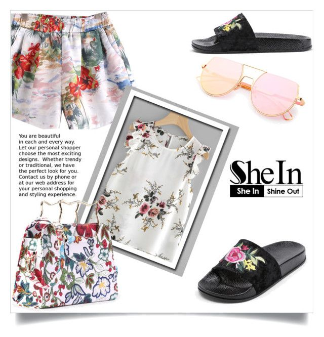 """""""Shein 8"""" by aida-banjic ❤ liked on Polyvore featuring shein"""