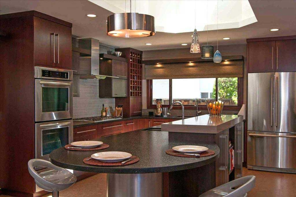 Average Cost Of Kitchen Cabinets How Much Does A New Kitchen Cost