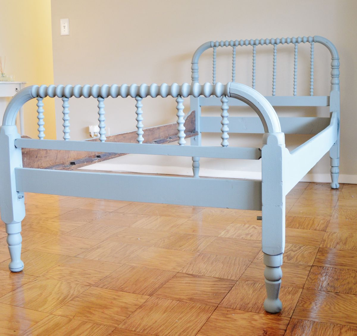 Jenny Lind bed Spool bed, Bed, Recycled furniture