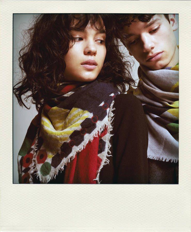 Foulard en laine, coton, cachemire, Moismont dès 110 euros