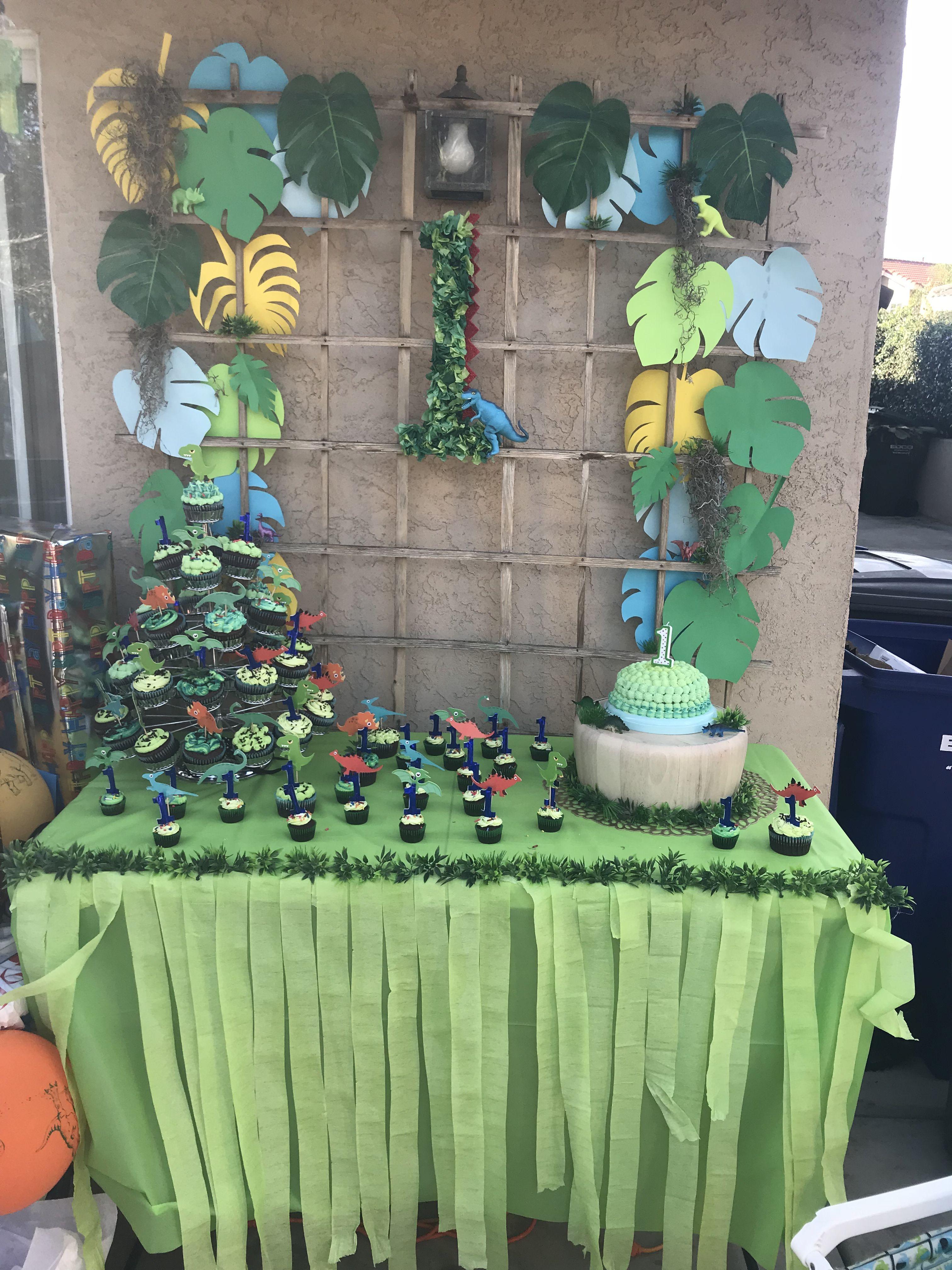 Dinosaur Party Diy Backdrop Party Backdrop Diy Dino Party
