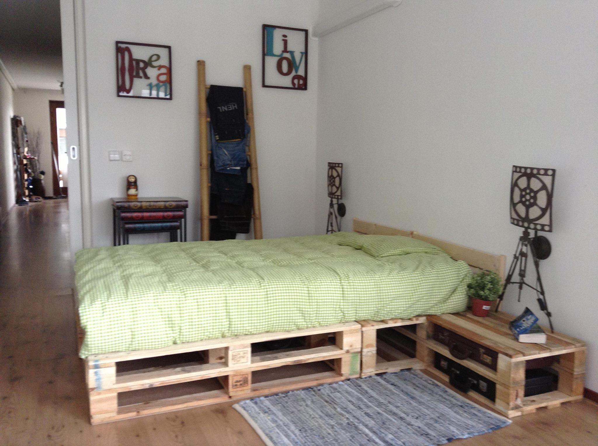 Pallet Bedroom Bett M 246 Bel M 246 Bel Aus Paletten Und