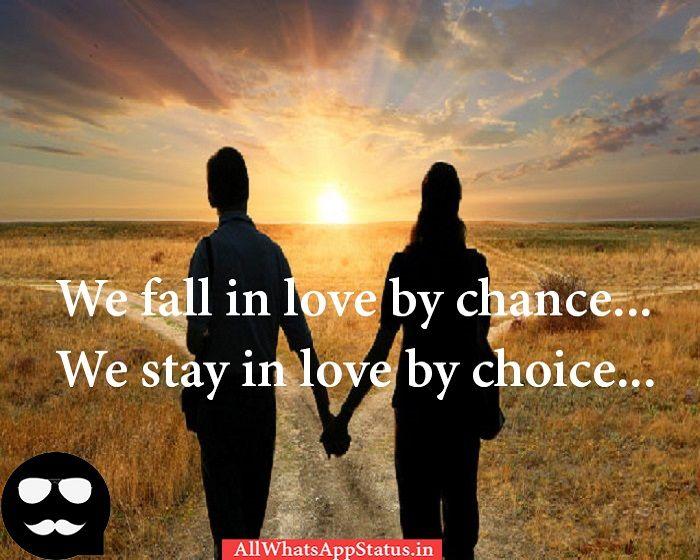 Love Whatsapp Status For Girlfriend Love Status We Fall
