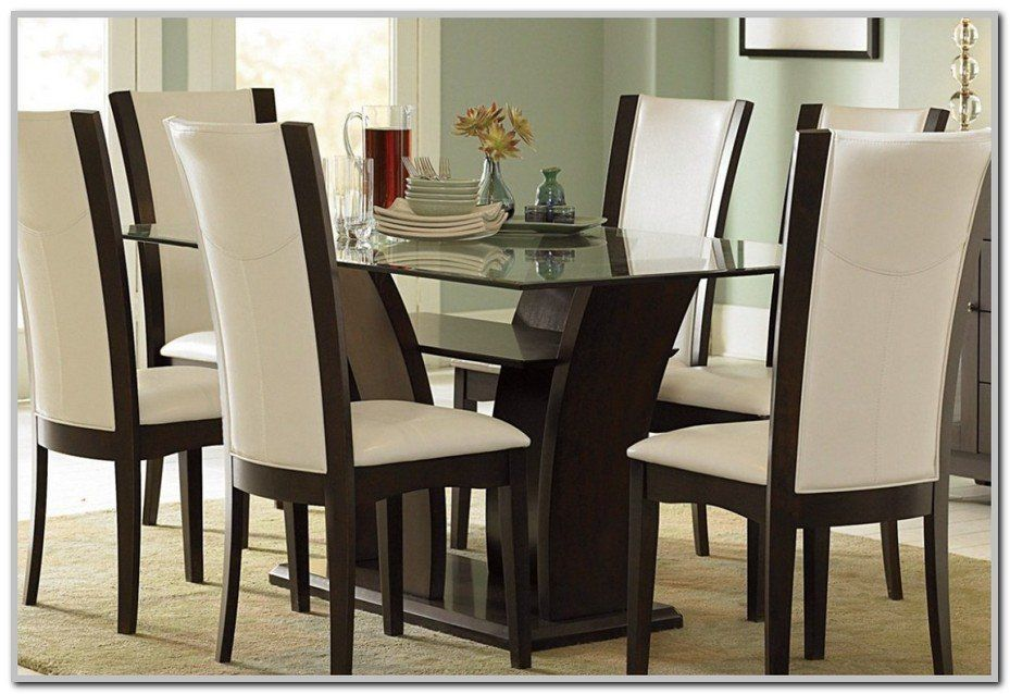 Dining Room Sets Houston In 2020 Glass Dining Room Table Glass Dining Room Sets Espresso Dining Tables