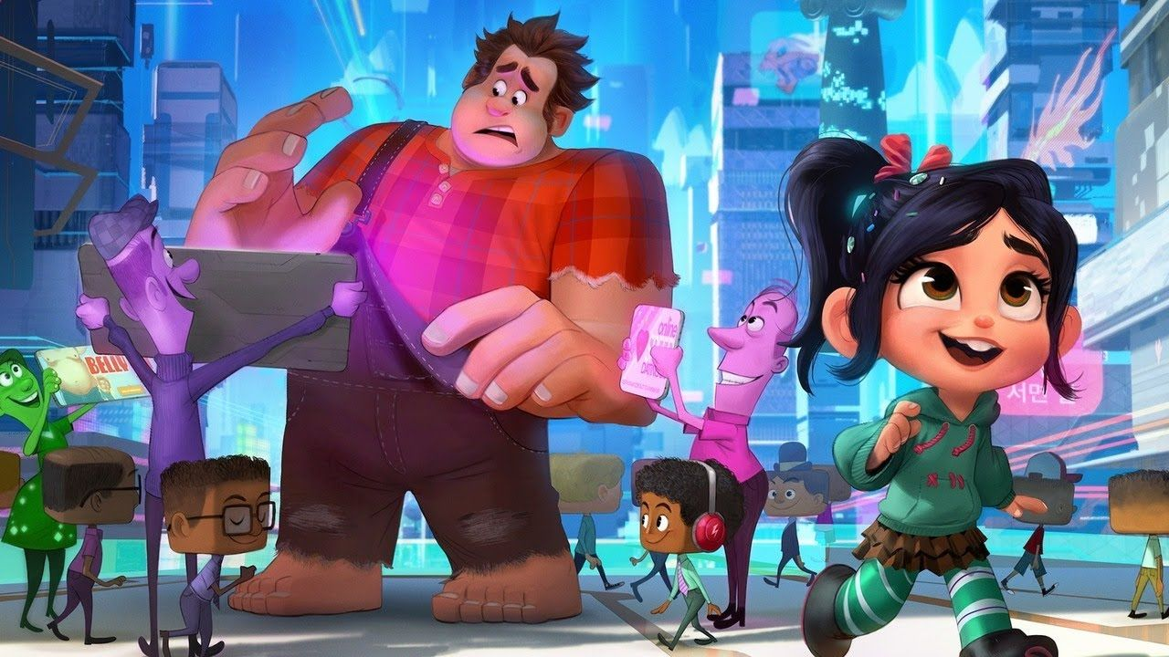 Ralph Breaks The Internet Wreck It Ralph 2 Trailer 2018 John C Reilly Sarah Silverman Wreck It Ralph Disney Video Games Fantasy Movies