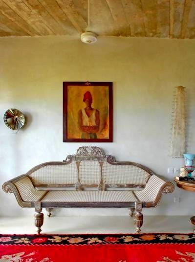 The Majlis Resort in Lamu, Kenya.