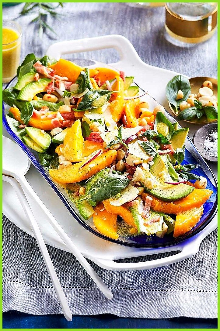 Mango avocado and macadamia salad Mango avocado and macadamia salad recipe Summer tastes like mango