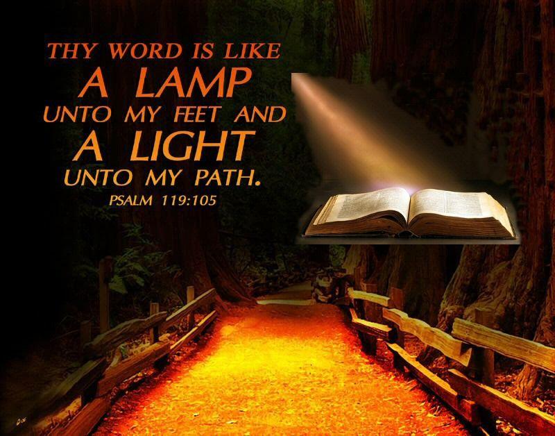 Psalms 119:105 KJV - NUN. Thy word is a lamp unto my feet, and a light unto my path. | Psalms, Psalm 119, Psalm 119 105