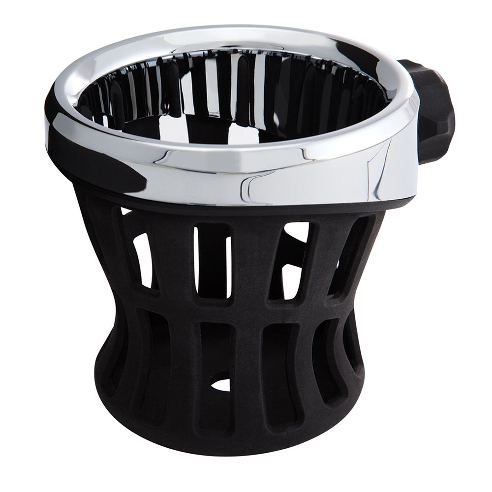 Drink Holder Without Mount in Chrome or Black (With images
