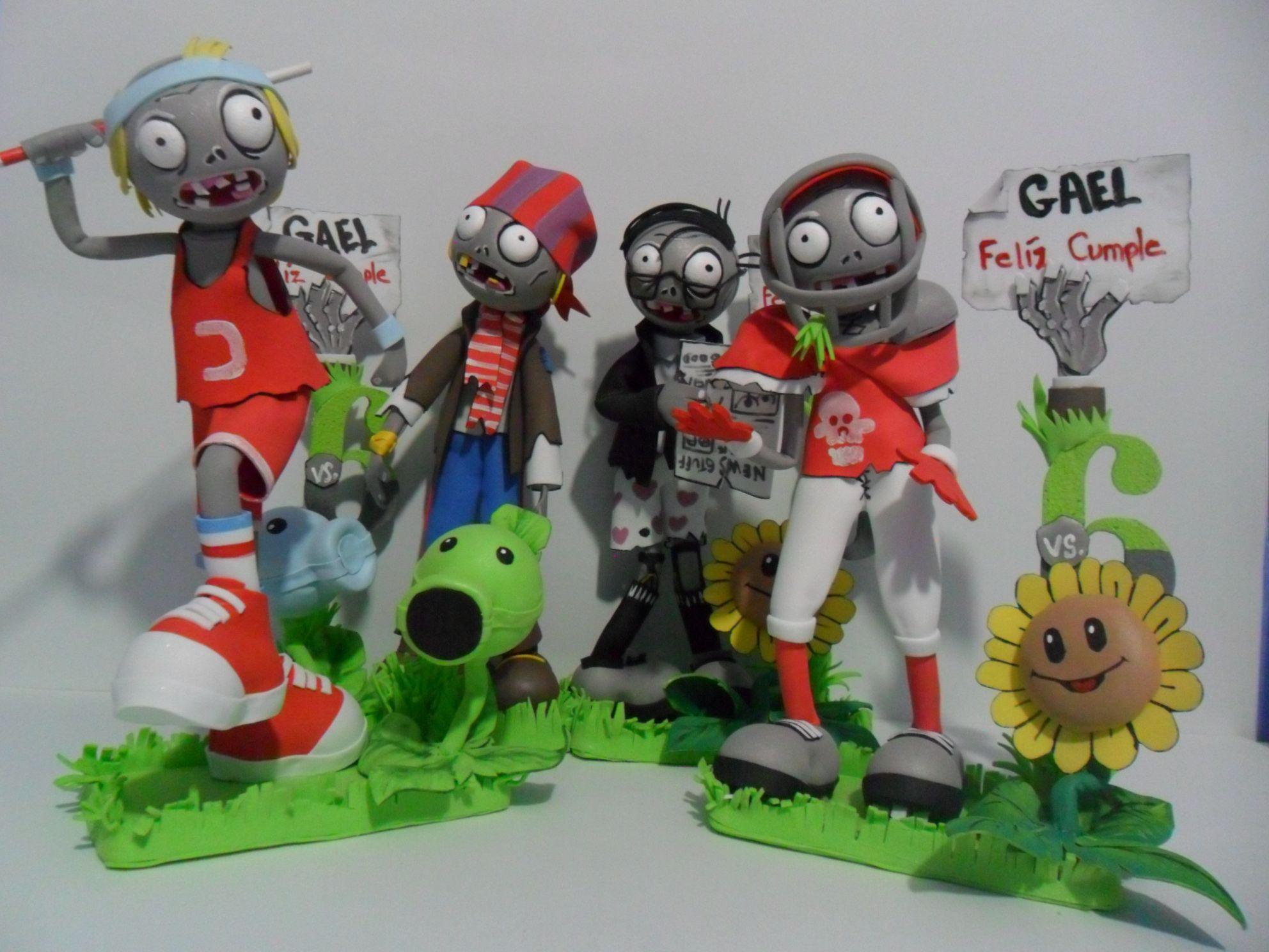 Plants vs zombies arte en foamy 3d for Cuartos decorados de plants vs zombies