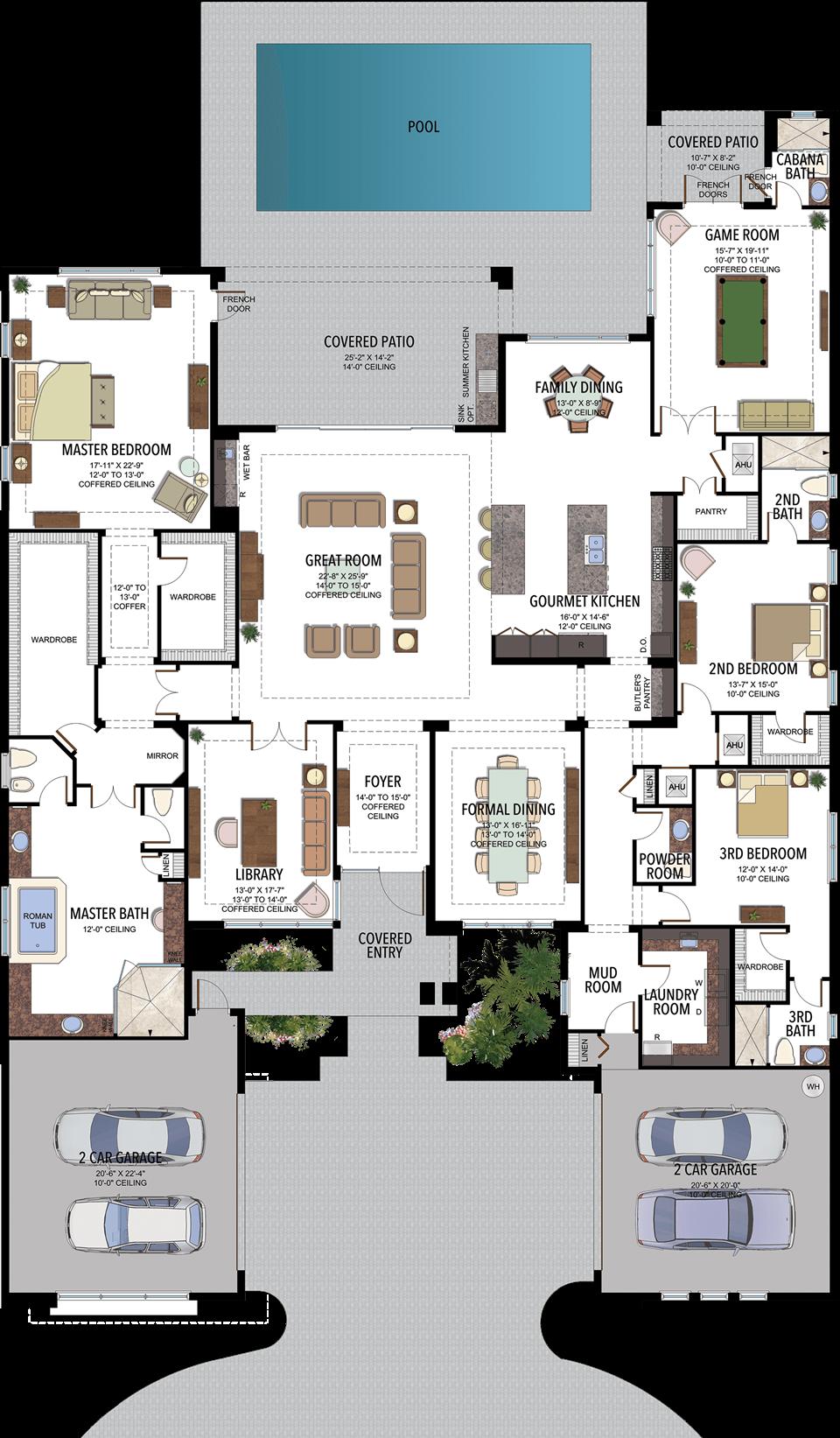 Versailles Contemporary Floorplan Mansion Floor Plan Sims House Plans Home Design Floor Plans