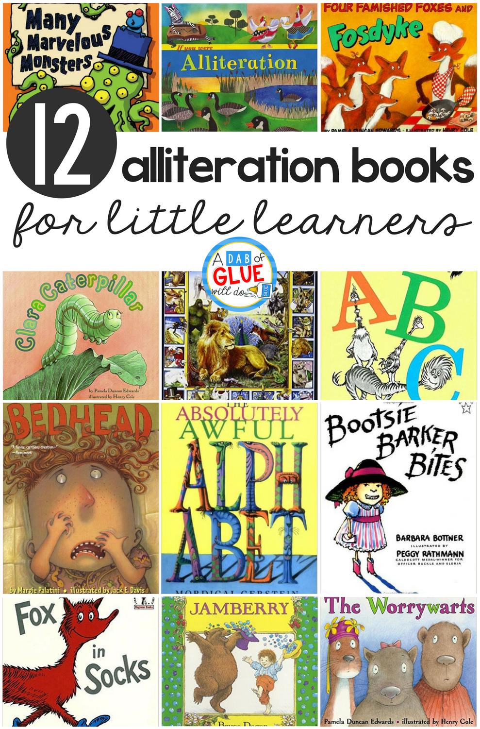 12 Alliteration Books For Little Learners Alliteration Books Alliteration Alliteration Activities [ 1501 x 989 Pixel ]