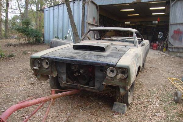 Picking Up The Pieces 1969 Plymouth Roadrunner 1969 Plymouth