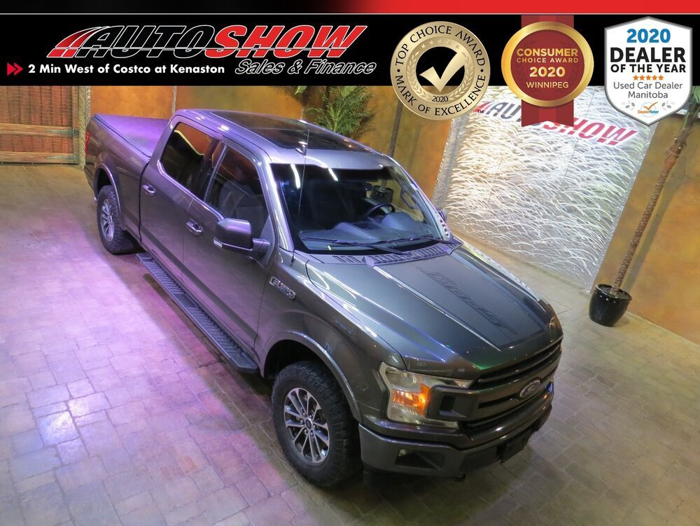 2018 Ford F 150 Sport 5 0l 6 5 Box Grphcs Pkg Pano Roof Htd
