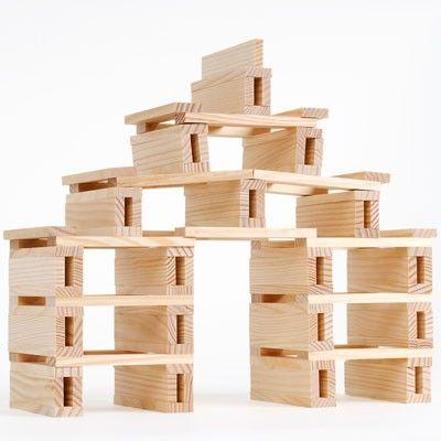 bloques de madera kapla juguetes para ni os pinterest madera bloques y ni os. Black Bedroom Furniture Sets. Home Design Ideas