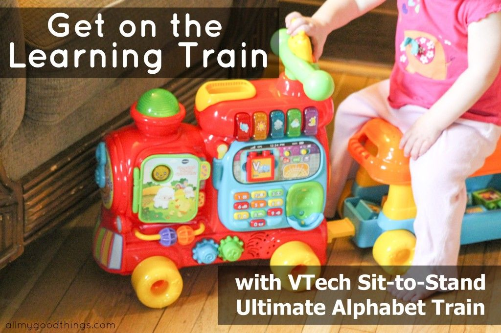 Get On The Learning Train With Vtech Sit To Stand Ultimate Alphabet