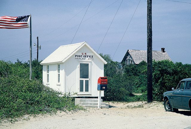Salvo Nc Post Office Salvo Nc Beach Living North Carolina Homes