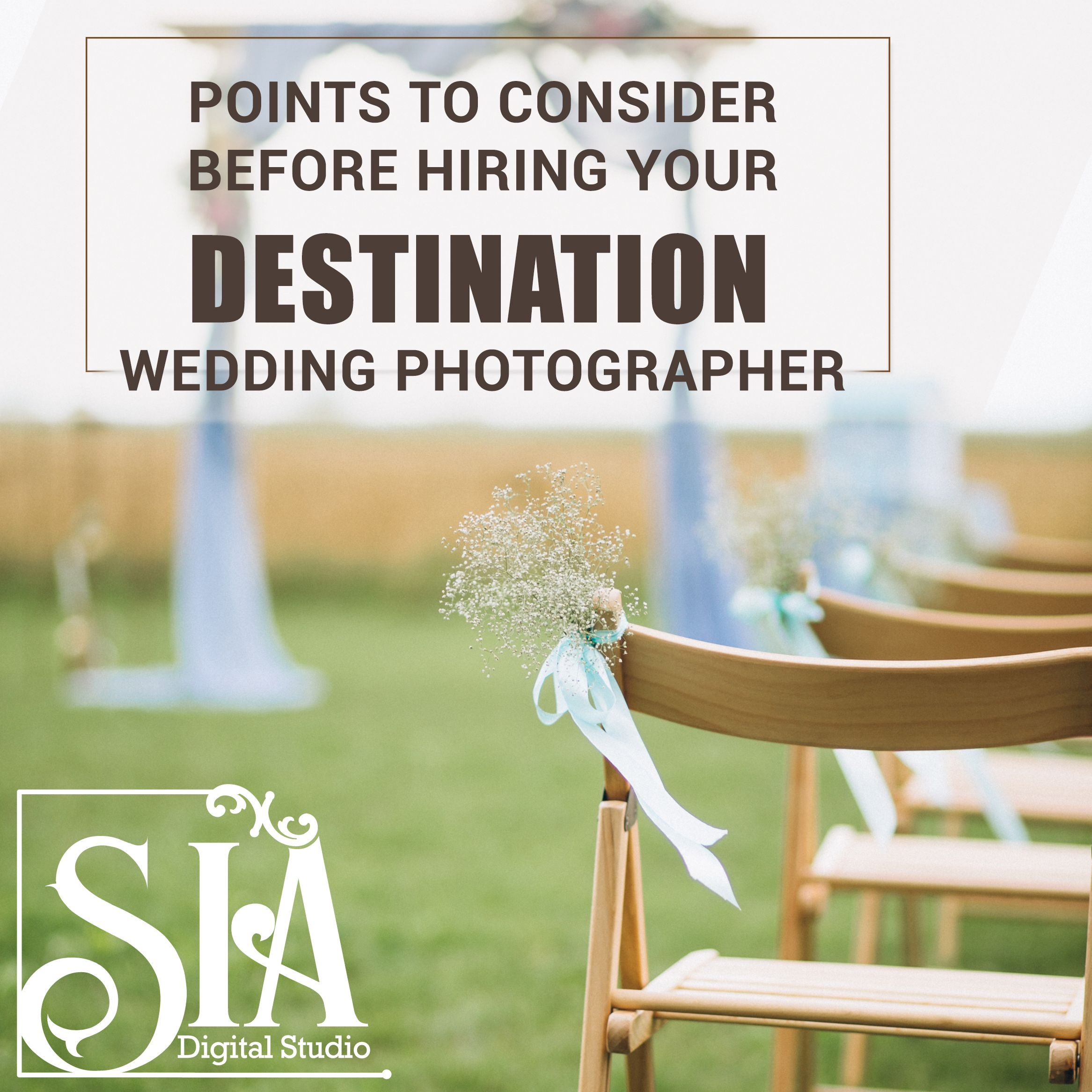Most couples choose a destinationwedding to have the
