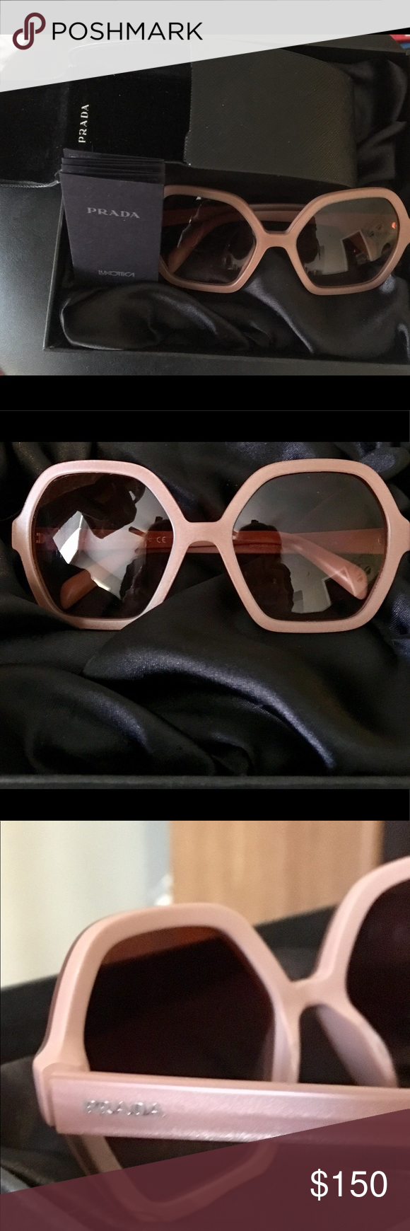 0006ceccabc ... canada new prada pr 06ssf sunglasses includes certificate of  authenticity and original case. feel free