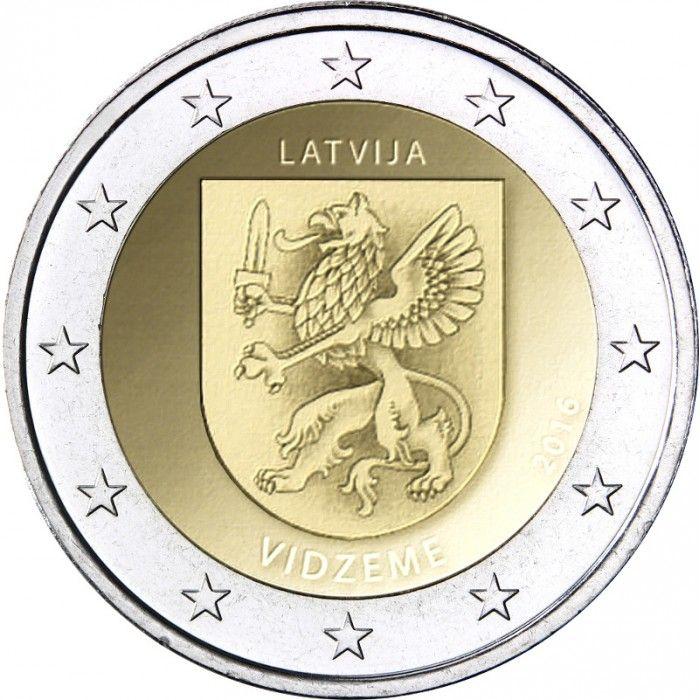 2 Euro Lettonia 2016 Munten Letland Euro