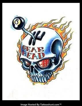 Gear Head Tattoo Art Pinterest Tattoos Tattoo Flash Art And Art