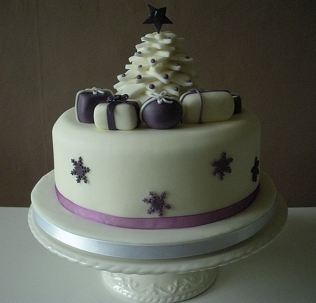 Decorate your own christmas cake class Jingle All The ...