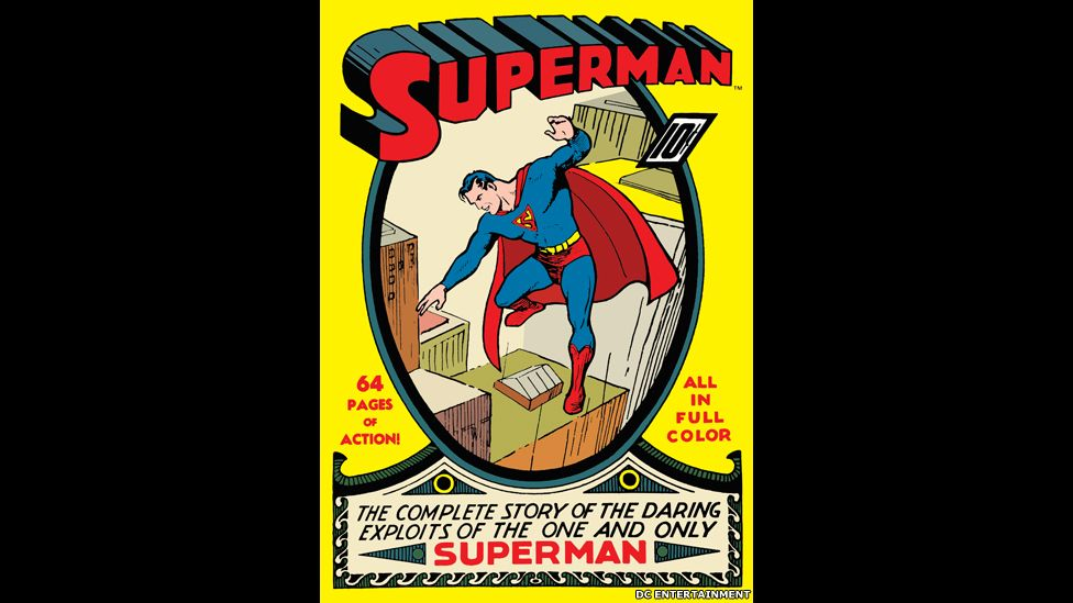 Primer número del cómic de Superman de 1939. DC Entertainment