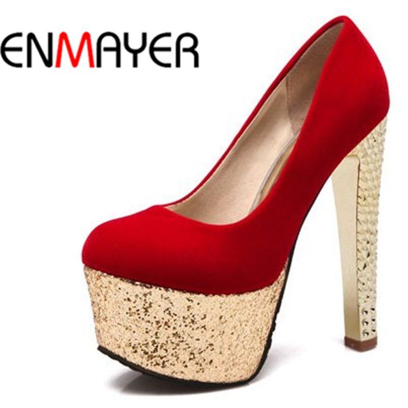Shoes For Women Chunky Heel Comfort Round Toe Heels Wedding Outdoor Dress Casual Black Red Beige