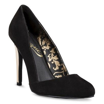 32a38075243 Black Women's Vogue® Poparazzi Pumps Heels - Black @ Target $30 CUTE ...