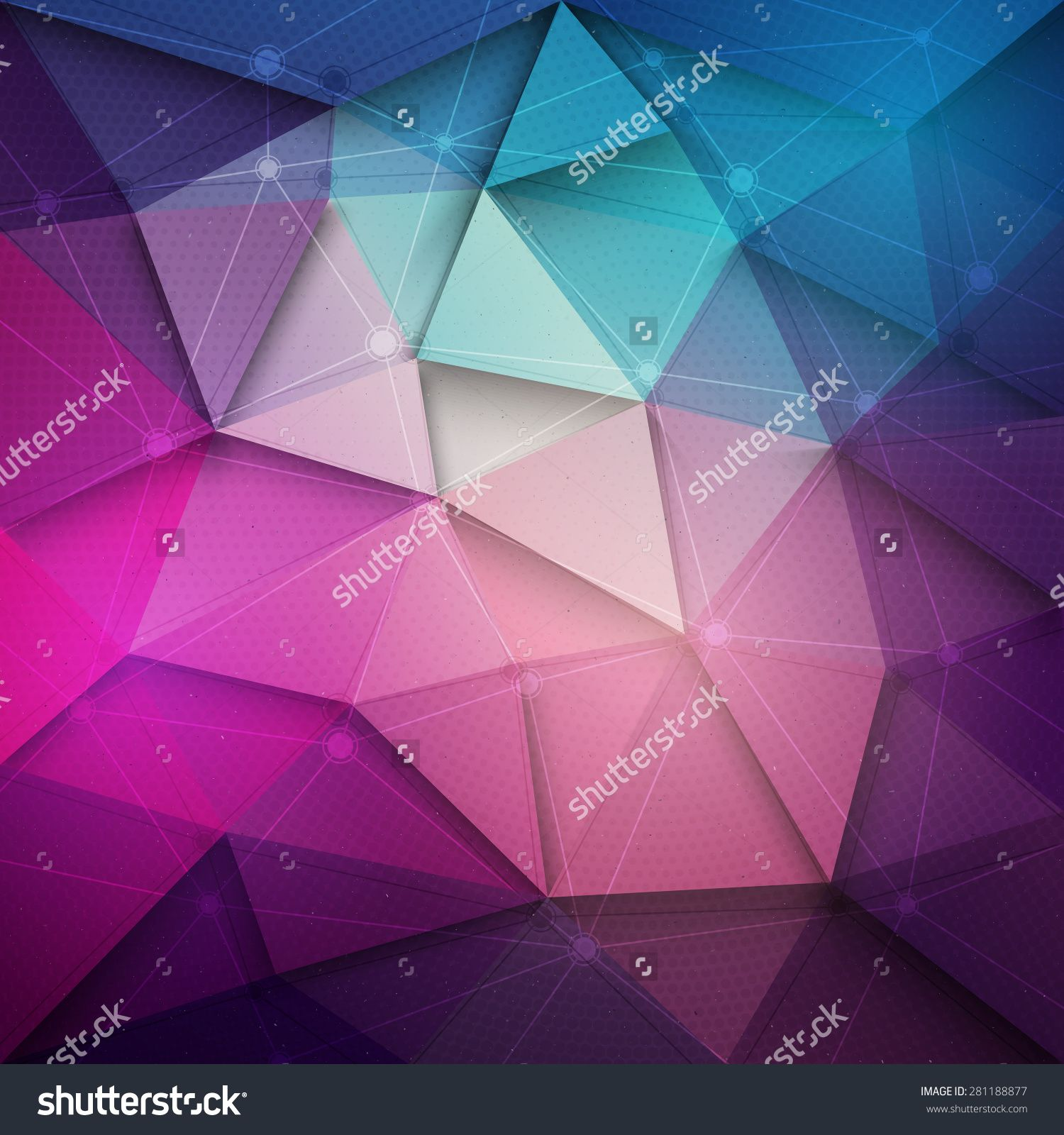 Abstract 3d Vector Technology Background With Wireframe Structure Vector Digital Background For Web Applicat Vector Technology Abstract Technology Background