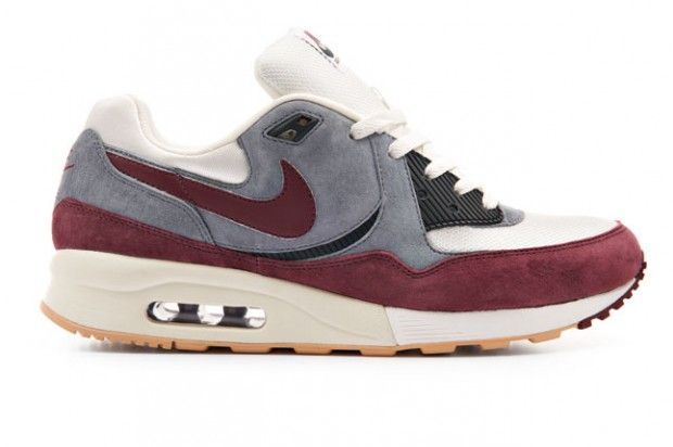 Nike Air Max Light, I love 90's and 1's, this seems like an in between. Nice wine colorway. #Nike