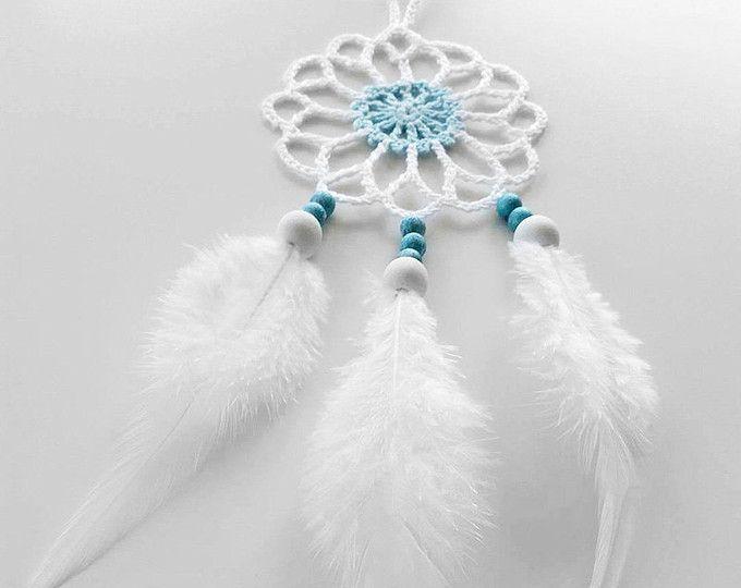 Large Beige Brown Dream Catcher Handmade Crochet Doily ...