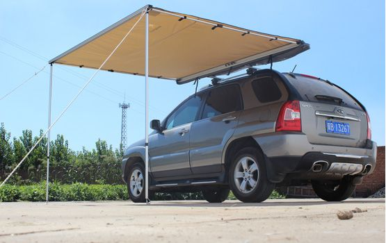 Side Amp Rear Awning Vehicle Awning Roof Top Tent Top