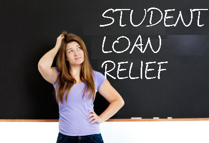 Image result for student loan relief
