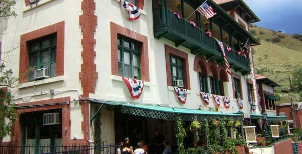 The Copper Queen Hotel Bisbee Az There Are Three Resident Ghosts At First An Older Gentleman Tall With Long Hair And A Beard
