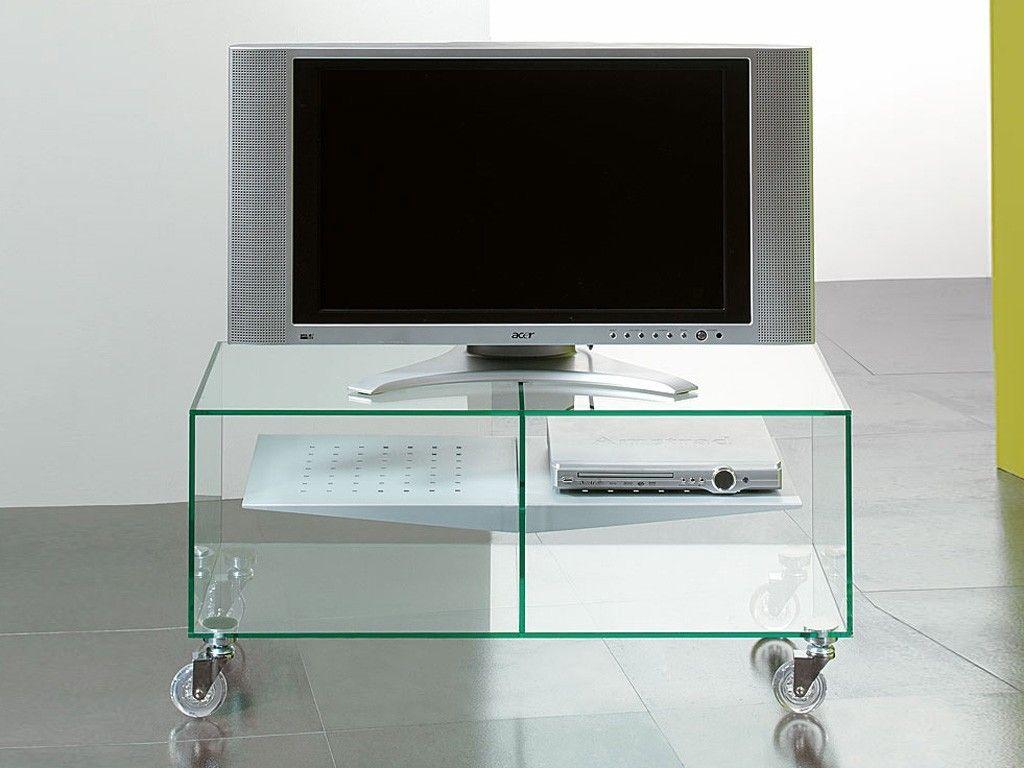 Carrelli Porta Tv Lcd.Carrello Porta Tv Lcd In Vetro Ebox Porta Tv Glass Tv