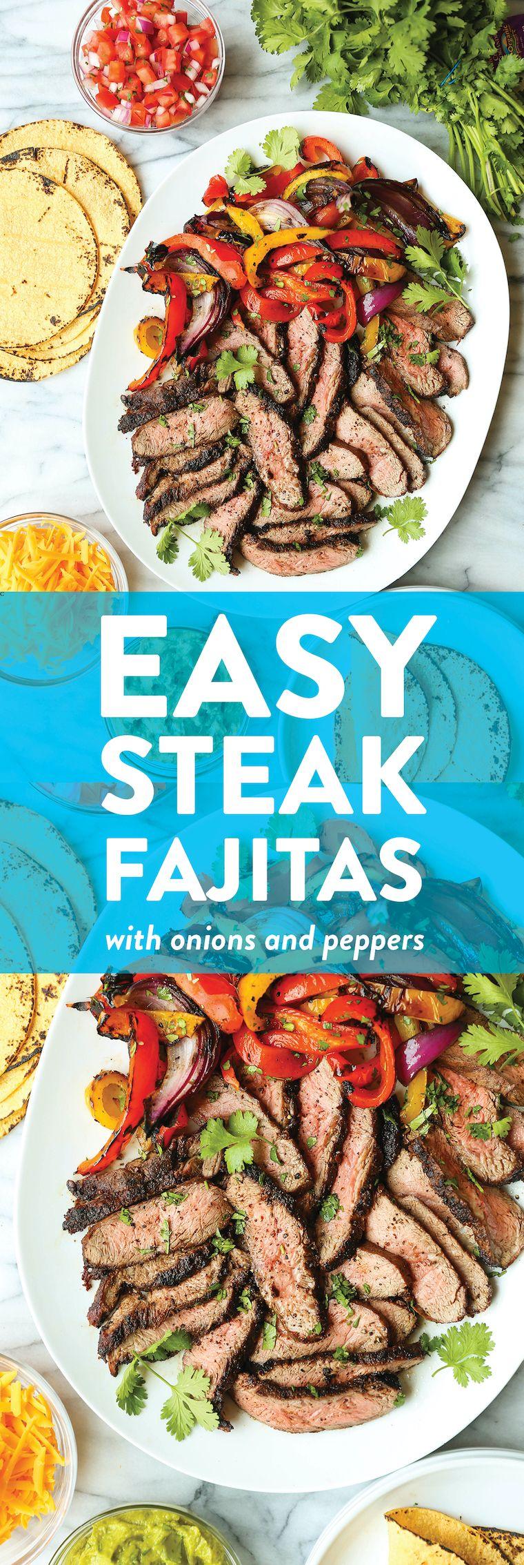 Photo of Easy Steak Fajitas