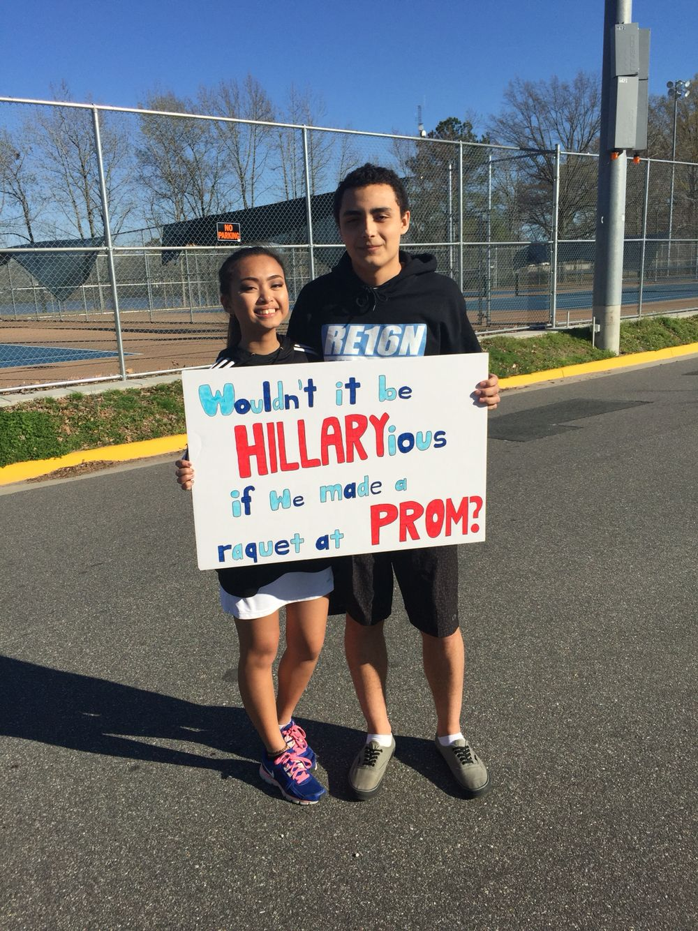 Promposal Tennis Prom Prom Proposal Homecoming Proposal Cute Homecoming Proposals Asking To Prom